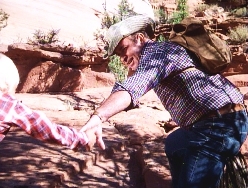 File:The Bionic Boy - Andy Sheffield and his father just before the rockslide accident (flashback of Andy).jpg
