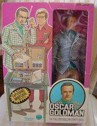 Oscar goldman in box