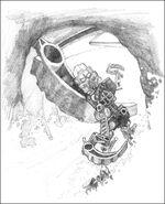 Concept art of Rahi chase LBLMA