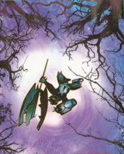 Takanuva falling into forest