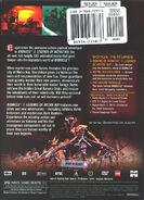 Back cover of Bionicle the Movie 2