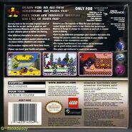 The back of Bionicle Matoran Adventures (US version)
