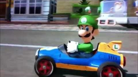 The Best Luigi Death Stares- Mario Kart 8 (Ridin Dirty,Move B*tch, 99 Problems)