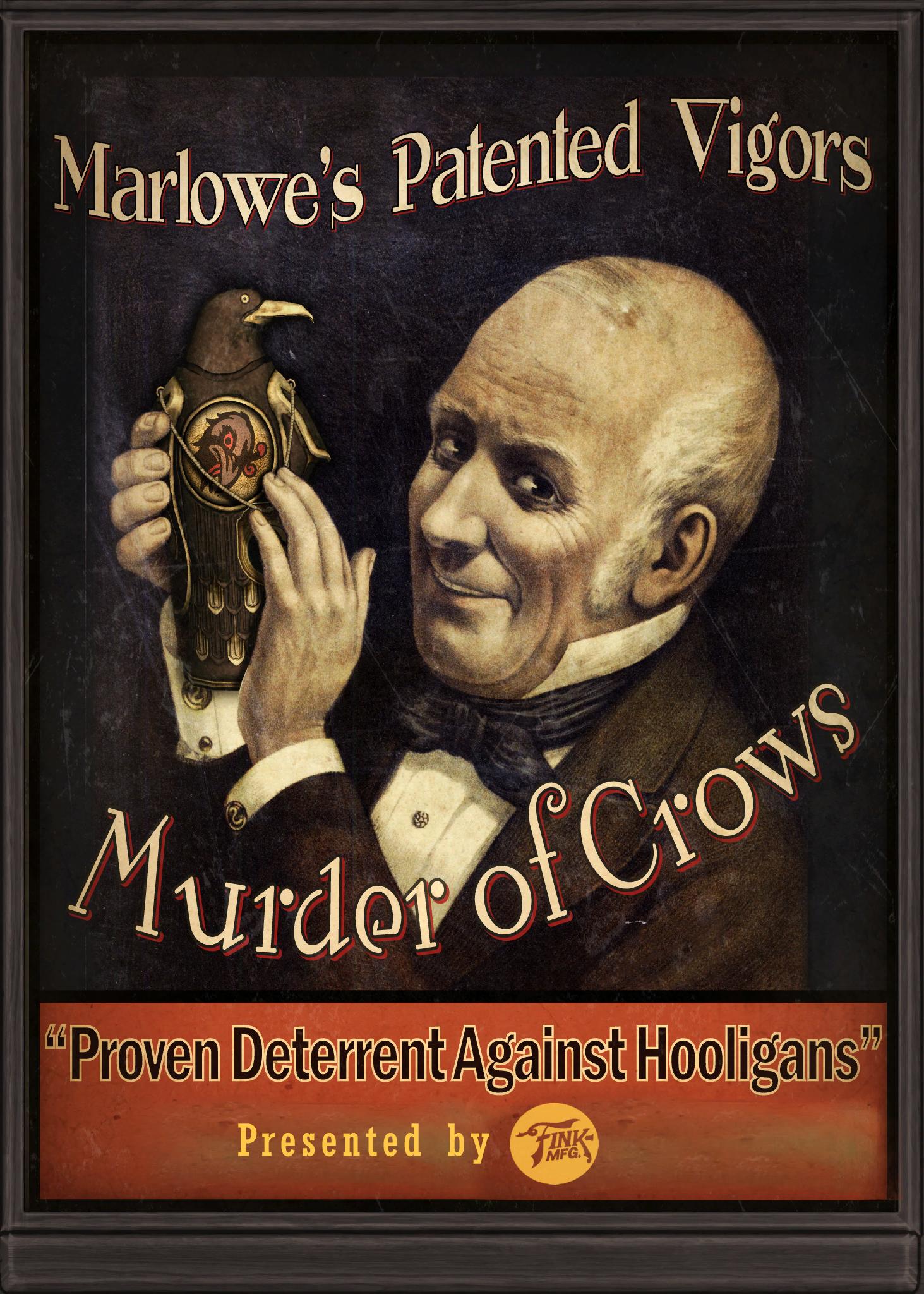 Murder Of Crows Bioshock Wiki Fandom Powered By Wikia