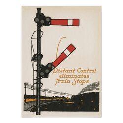 Distant Control Eliminates Train Stops
