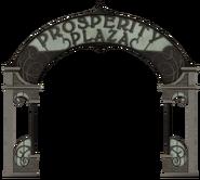 Prosperity Plaza sign