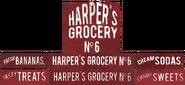 Harper's Grocery ads