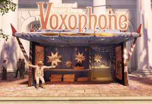 Town Center - Fairgrounds-Voxophone booth f0529