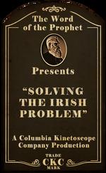 Kinetoscope Solving the Irish Problem