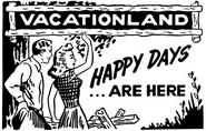 Vacationland Clip Art Arcadia Nature's Beauty Ad