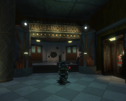 Bioshock-Point Prometheus - Failsafe Armored Escorts entrance f0378