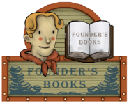 Founders Books sign