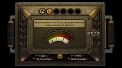 B1 Hacking User Interface