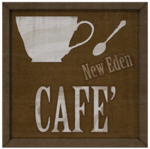 New Eden Cafe Sign