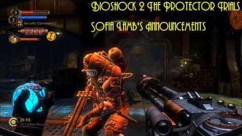 Bioshock 2 The Protector Trials Sofia Lamb's Announcements