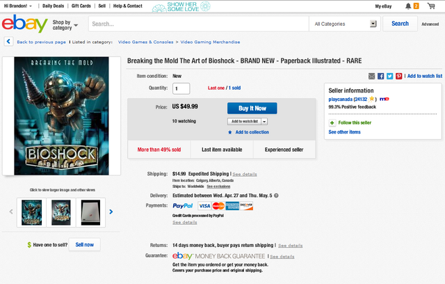 File:Fake-BioShock-Breaking-the-Mold-Artbook-on-eBay-playcanada-Auction.png