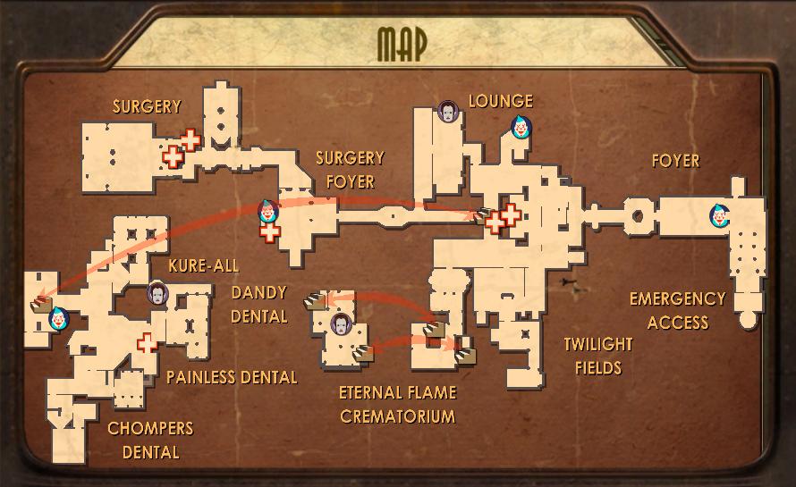 Medical Pavilion Map