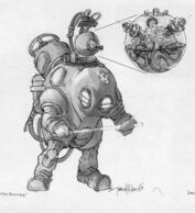 Early Master Blaster Protector Concept