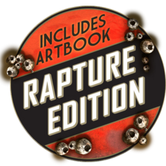 Pegatina de la Edición Rapture