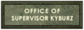 Office of Supervisor Kyburz Sign.png