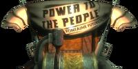 """Станция усовершенствования оружия """"Власть Народу"""""""