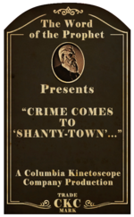Kinetoscope Crime Comes to Shanty-Town