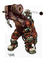 Slow-Pro Firing Cannon Concept