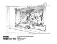 Rapture Memoria Museum Diorama Concept 3