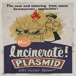Plasmids Incinerate 3