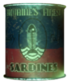 Fontaine's Finest Sardines tin