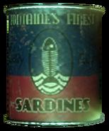 Fontaine's Finest Sardines tin