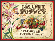 Chas A White Supply Sign