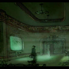 <i>Sonradan Prometheus Noktası olan laboratuvarın muhtemel ön tasarımı. <a href=
