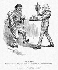 Boxer Rebellion comic