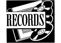 Records Clip Art Records Sign