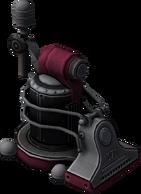 Vacuum Bot Model Render