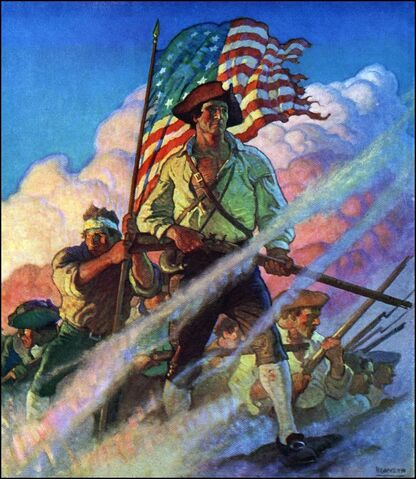 File:The Old Continentals by NC Wyeth.jpeg