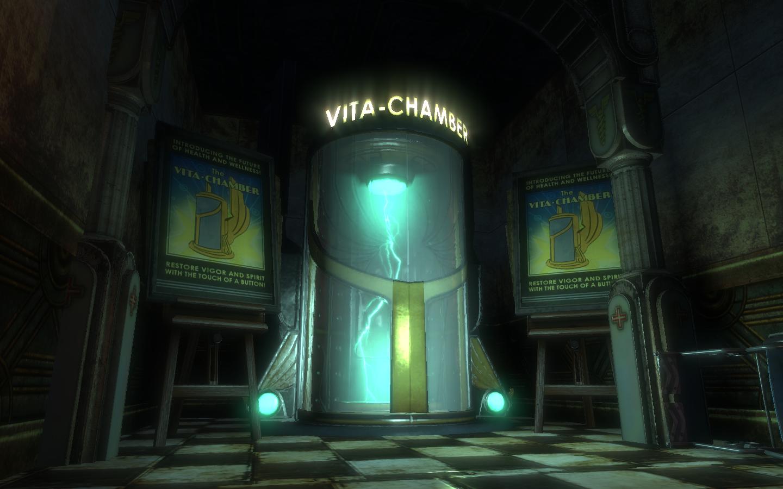 Vita Chamber Bioshock Wiki Fandom Powered By Wikia