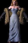 Mlle Blanche de Glace Selection Menu Model Render