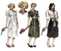 BaS Female Splicers Concept Art.jpg
