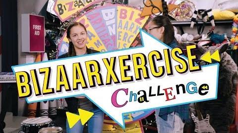BizaArxercize Bizaardvark Challenge Disney Channel