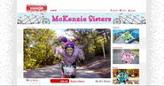 McKenzie Sisters' Triple Bike