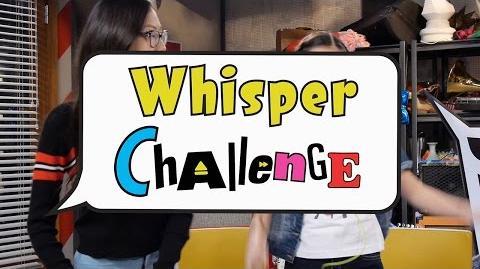 Whisper Challenge Bizaardvark Disney Channel