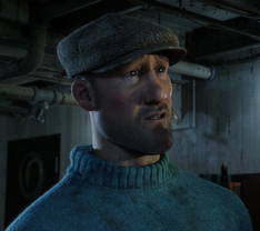 Tom (The Crab with the Golden Claws) in the film