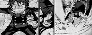 Kisara saved by Rentaro
