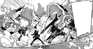 Rentaro and Shougen team-up