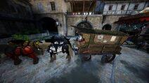Vehicle merchant wagon full