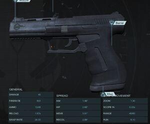 Light Pistol Parity Patch