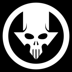 Blacklight Skull