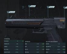 Light Pistol V2 X200 Mod